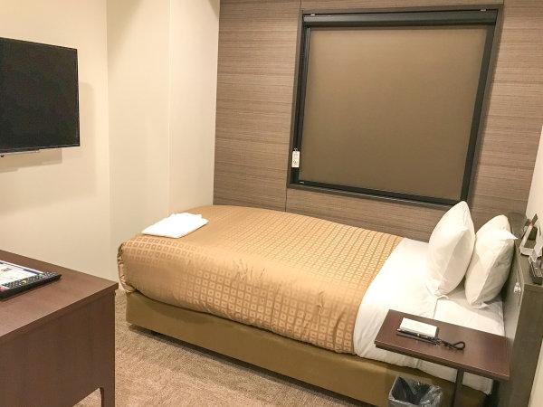 ◆コンパクトシングルルーム◆全室スランバーランドベッド完備!