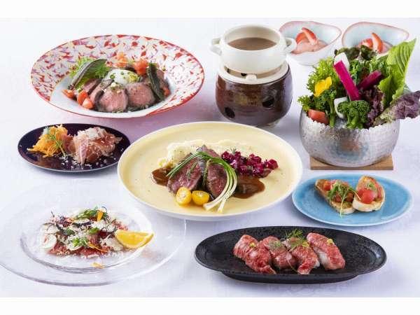 季節の洋食卓盛コース