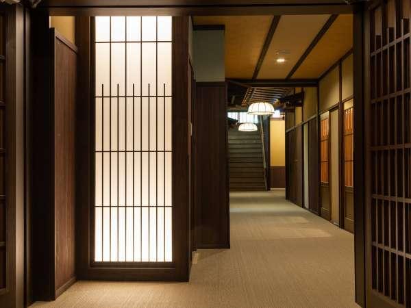【館内】乗鞍荘 1階廊下