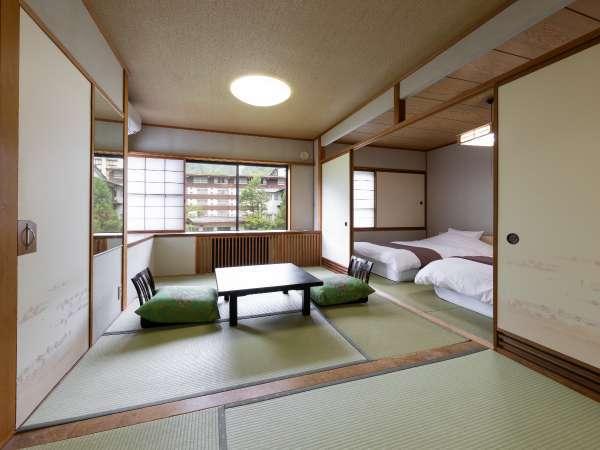 【部屋】本館 庭園側和室
