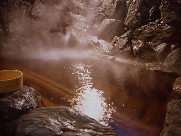 源泉掛け流し大浴場「岩の音」男女有り