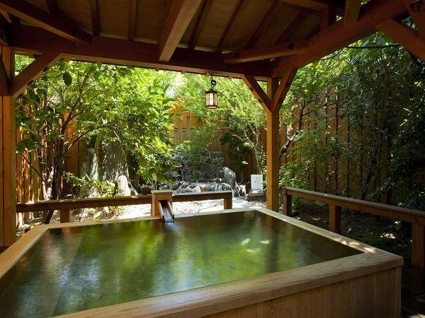 貸切露天風呂「檜の湯」45分1室1,800円