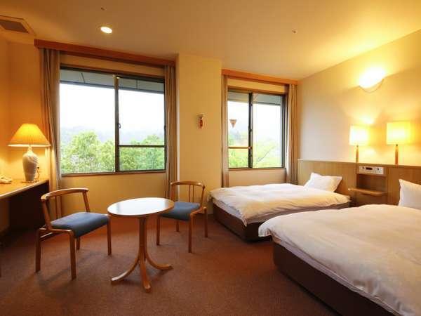 翔鷺館西館洋室ツインベッドルーム〈22平米〉