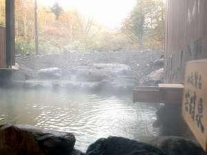 別館神々の湯 露天風呂は通年でご利用いただけます!
