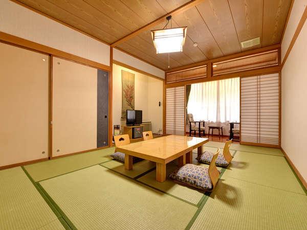 *和室12畳(客室一例)/グループやお家族でのご宿泊にオススメ!団欒のひと時をお過ごし下さい。