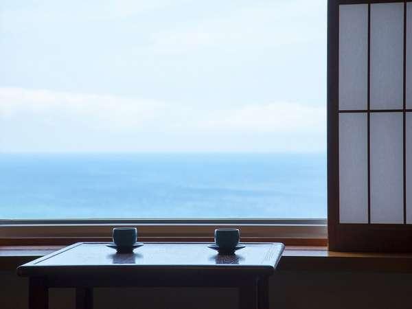 本館「和室」からの眺め
