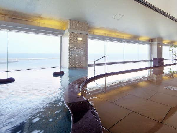 ≪大浴場 海の花≫海に浮かんだ気持ちでゆったりとリラックス