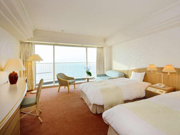 ◆スタンダードツイン(33平米)ベッドはデュベスタイルでセミダブル