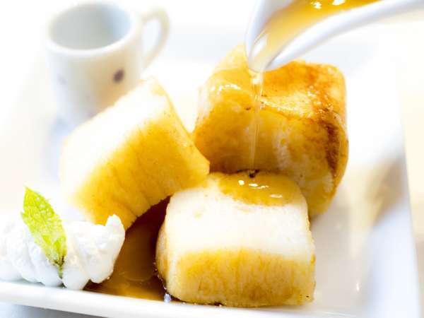 【朝食・オーダーメニュー】感動の絶品フレンチトースト♪