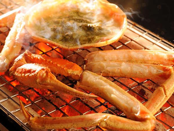 【冬季】蟹の炭火焼