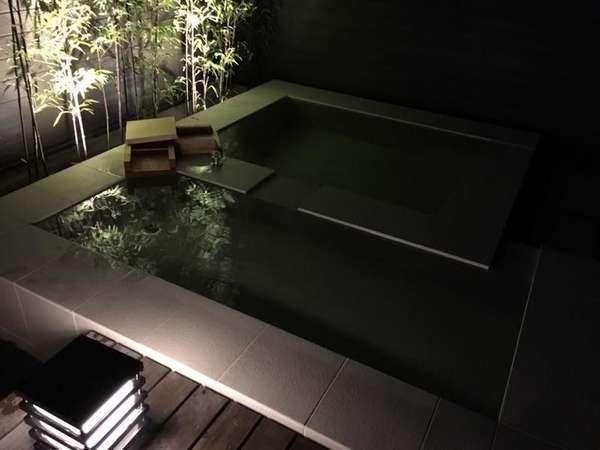 【温泉】客室露天風呂(寝湯付き)