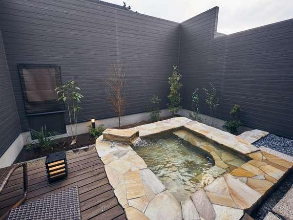 専用の露天風呂
