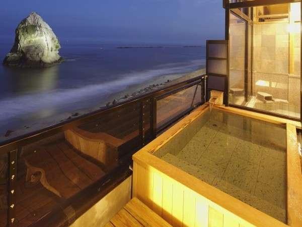【潮騒が運ぶ旬魚の宿 二ツ島観光ホテル】波打ち際まで100M!全室オーシャンビューの茨城で一番海に近い宿。