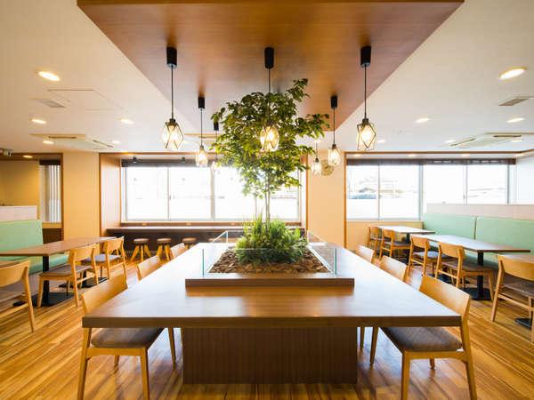 【Lohasラウンジ】朝食会場です!2018年4月*全館リニューアルオープン!