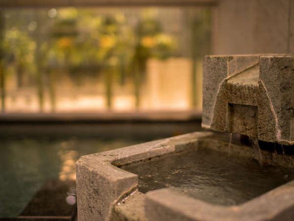 【天然温泉*出流の湯】※当館は男女時間交代制です!
