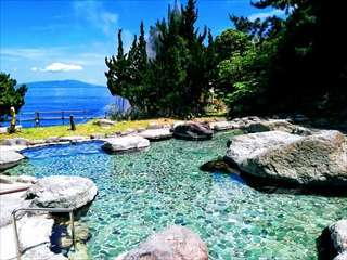 【ホテルセタスロイヤル(BBHホテルグループ)】海が目の前!伊豆半島最大級の大野天風呂の宿♪