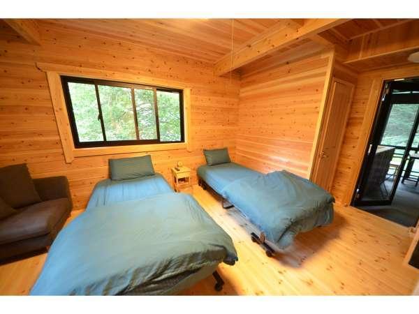 お部屋の一例(山女魚)…豊かな国産杉の木香に心身ともにリラックスしていただけます