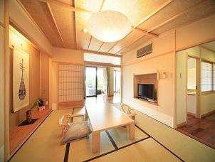【露天風呂付特別和洋室】風の棟1階