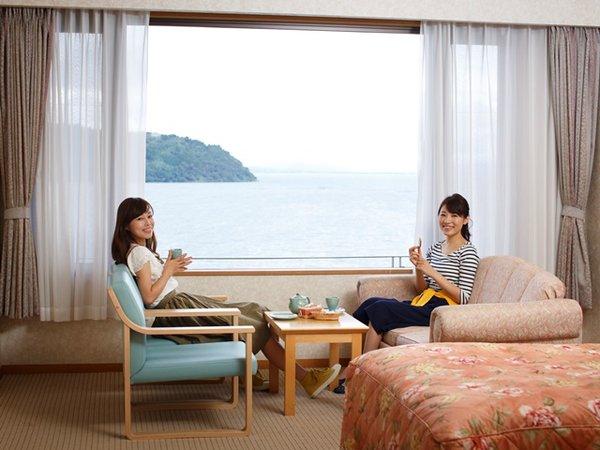 東館客室からの眺めは最高☆