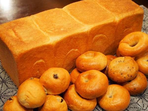 自家製パン ベーグルが特に人気です