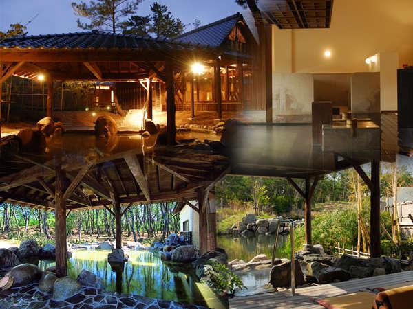 松林の中から湧き出た美人の湯「松泉宮(しょうせんきゅう)温泉」。