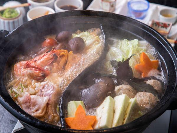 九州の米とあて「米九」のお鍋。