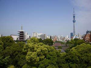 東京スカイツリー (R)・ 浅草寺を間近に臨むロケーション