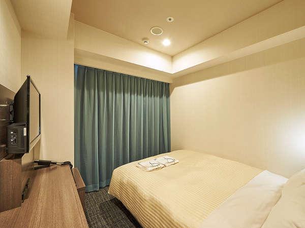 シングルルーム 広さは12.6平米 Wi-Fi接続可 空気清浄機完備