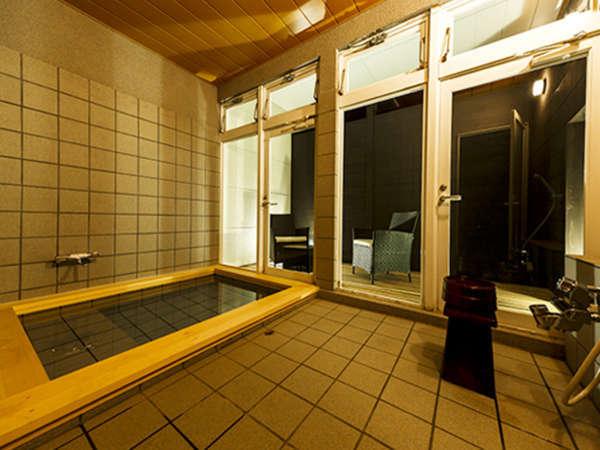 【愛犬と一緒に水素温浴】貸切風呂は完全湯入れ替え制