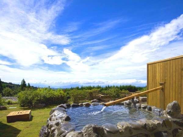 ◆源泉掛け流し◆1階露天風呂客室(一例)