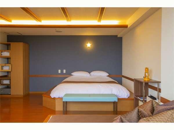 ◆源泉掛け流し◆3階洋室 露天風呂客室34㎡(一例)