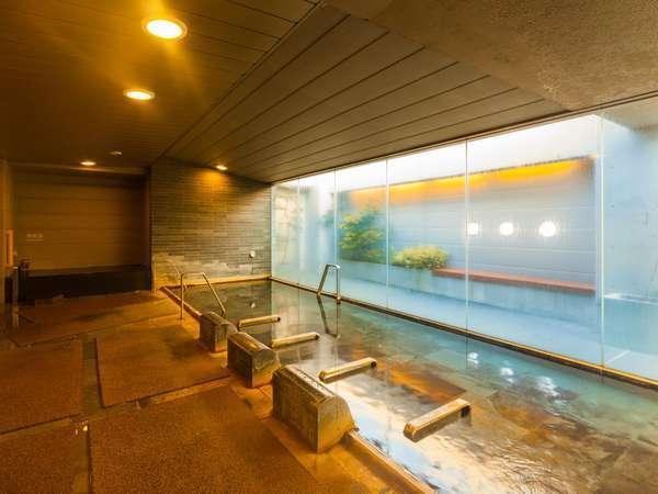 ■天然温泉大浴場 -男性内湯- (湯温:40℃)