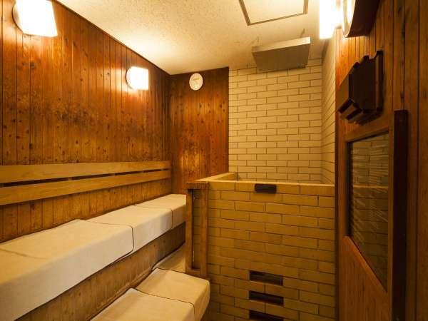 ■男性大浴場 サウナ(温度96℃/定員人数4名)深夜1:00~5:00休止