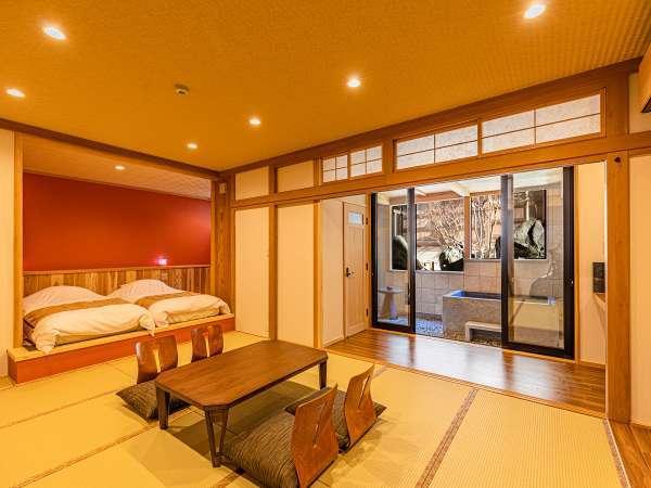 ◆別邸◆スーペリア客室【露天風呂付き客室】