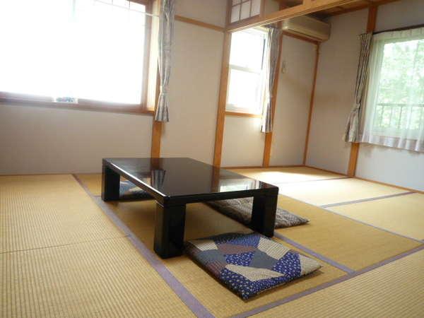 和室9畳(洗面トイレ)206・207:夜泣き・元気なお子様が心配な場合はこちらのお部屋がおすすめです