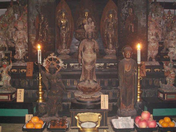 10月23日~11月第2日曜に「秘仏宝物展」開催。平素目にする事の出来ない重文秘仏をご覧頂けます