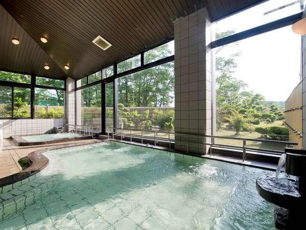 落ち着いた雰囲気の大浴場(ふよう荘)