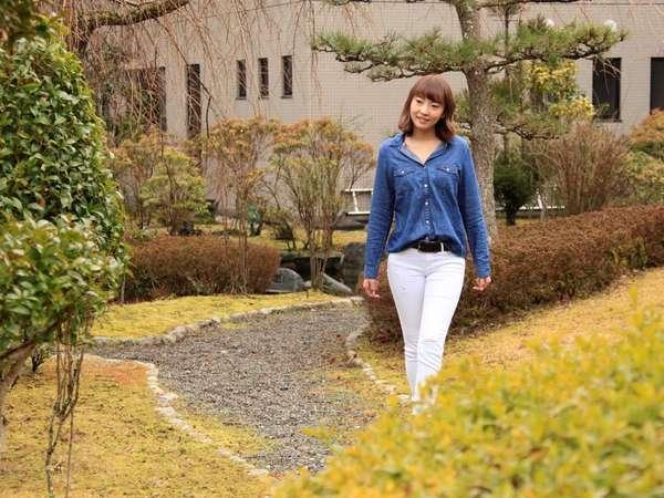 ふよう荘 中庭