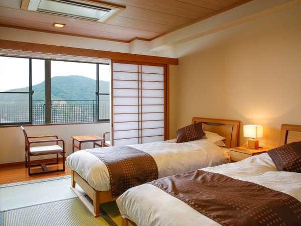 畳の和洋室☆彡日本人が一番ほっとする畳で寛ぐ「和みの空間」。