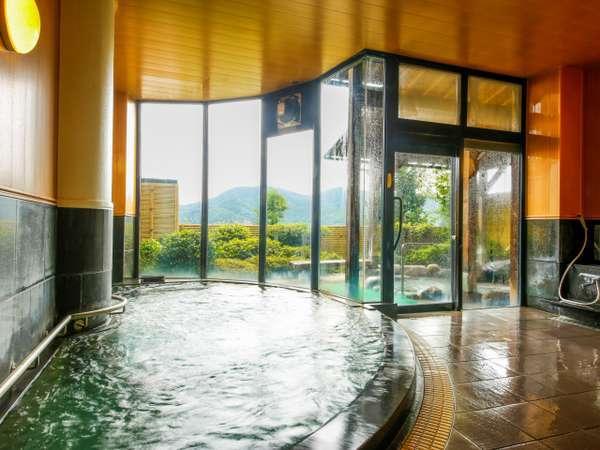 伊根の海・空とひとつになる至福の湯浴み・・・PH8.80の自家堀天然温泉「大浴場 露天風呂」
