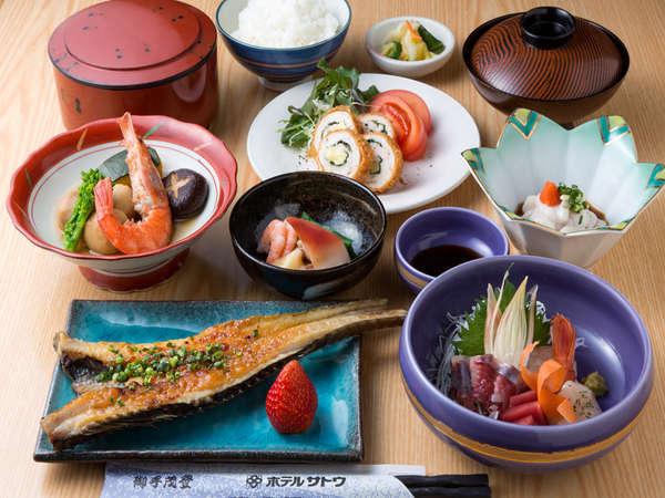 日替わり定食☆地元の食材などふんだんに使い、ご好評頂いております!