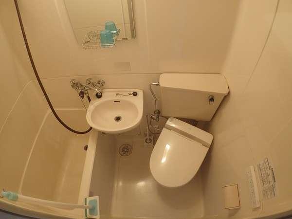 ウォシュレット設置のバスルーム