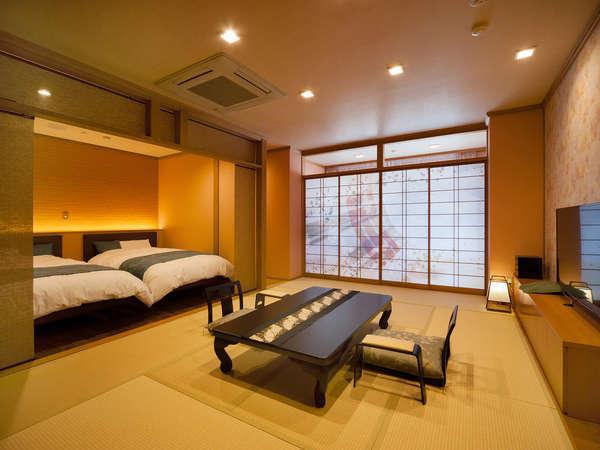 ■展望露天風呂付き特別室12畳+ツイン お部屋一例