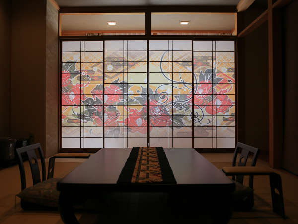 ■どのお部屋からも上田の町や美しい自然を望めます