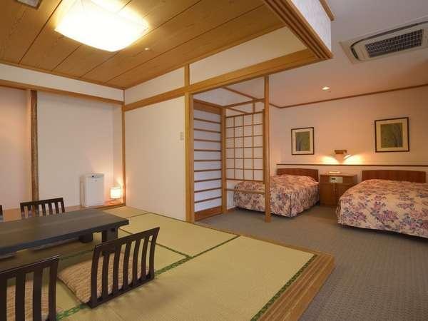 特別室イメージ 広々10畳の和室と、ツインベッド付のお部屋です