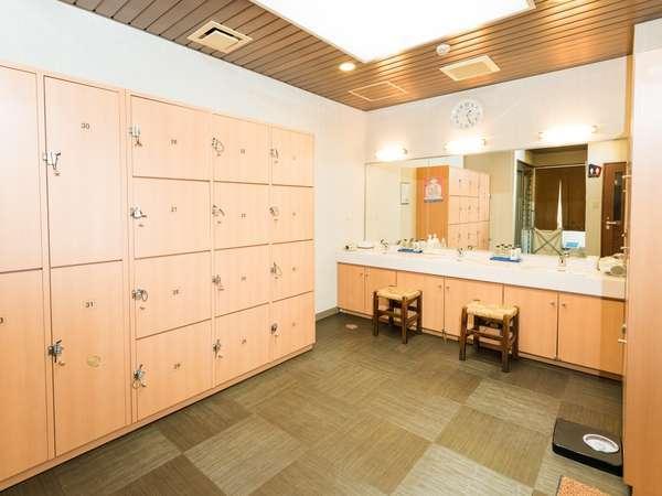 【展望大浴場】鍵付きロッカーでお荷物も安全♪