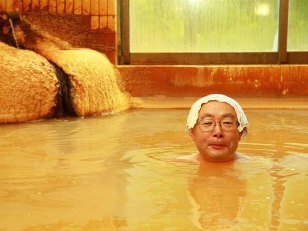 「天然炭酸泉気持ちいいです♪♪温泉最高だ~!!」(by.タカハシさん)