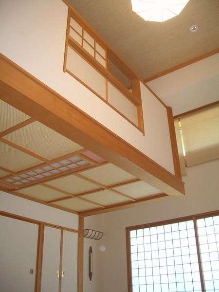 ロフト付和室(広さ3畳の中2階付)
