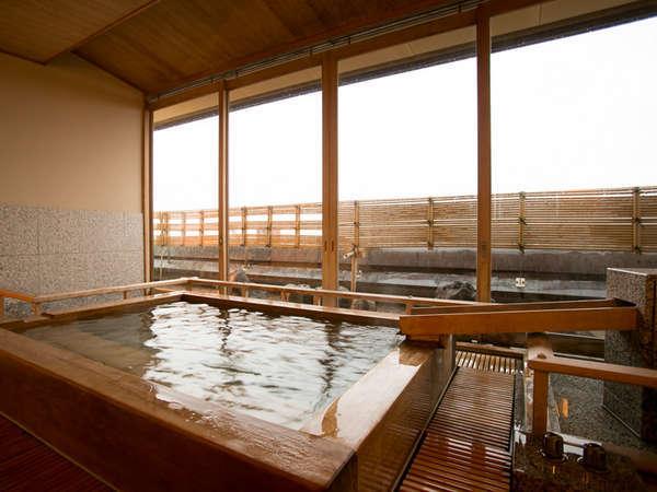 ~東館8階貴賓室~ お部屋専用露天風呂を配置!日本海を望む絶景!