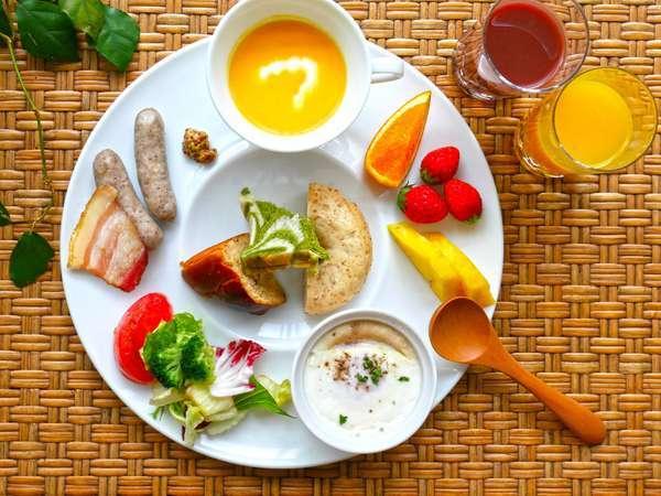 朝食バイキング一例【洋食】